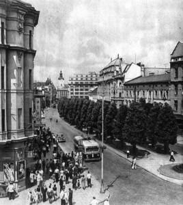 1956. Львів. Проспект Шевченка.